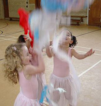 Dance lessons for young children from Graham School of Dance