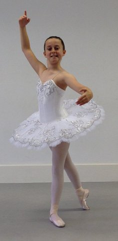 Graham School of Dance pupil Ella has not only had the excitement of winning the role of Ballet Girl: Sharon Percy