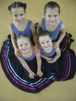Dance school pupils from GSD in Hertfordshire