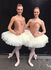 A brilliant Bronze medal at All England Finals for Elizabeth and Georgina's Classical ballet duet