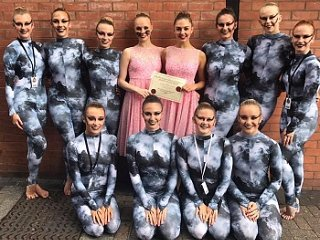 A Silver Medal this time...for our Senior Character group at All England Dance Finals!