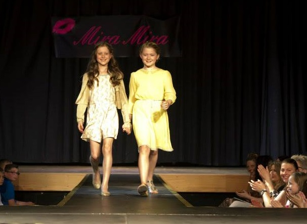 Graham School of Dance at the Helen Rollason Charity Hair & Fashion Catwalk Event held at Leventhorpe School