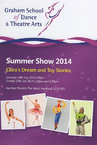 Graham School of Dance & Theatre Arts Summer Show