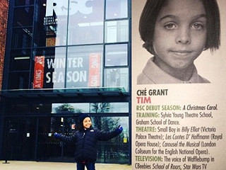 Congratulations to Ché Grant - Royal Shakespeare Company debut!