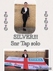 Another Silver Medal  at the Dance World Cup for our Isabel B - very well done indeed!